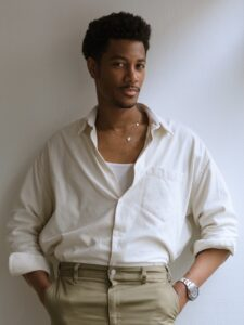 Episode 358 HAROLD JAMES – How a Hair & Makeup Artist Prioritizes Inner Beauty and Confidence